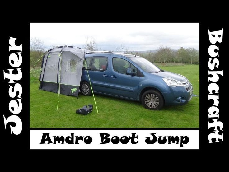 Finally got to test our Amdro Boot Jump camper conversion in our Citroen Berlingo Multispace. Also had the Khyam tailgate awning to give us a bit more space ...