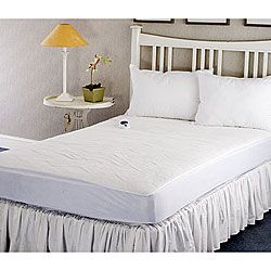 Warm And Cozy Plush Queen Size Heated Electric Mattress Pad