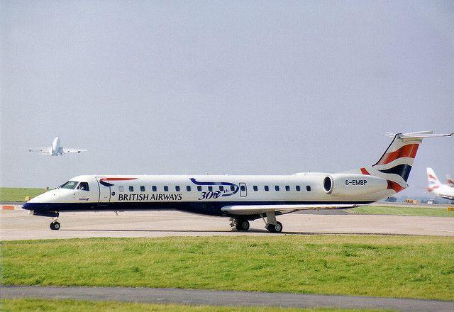 G-EMBP British Airways Emb-145 300th titles | G-EMBP sportin… | Flickr