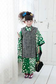 3歳女児 七五三衣装|I 緑花奴