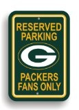 NFL Green Bay Packers Plastic Parking Sign - NFL Green Bay Packers Plastic Parking Sign    Officially licensed NFL product.Made from plasticPrinted with NFL team logos12-by-18 inches  NFL Plastic Parking Sign          List Price: $  13.99    Price: [