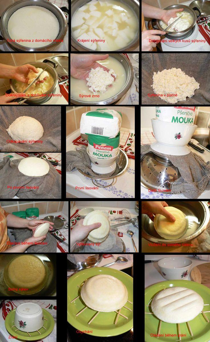 Výroba sýra v malé městské kuchyni | Cuketka