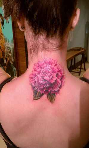 red carnation carnation tattoo and birth month on pinterest