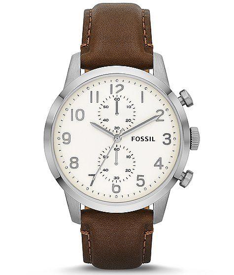 #Fossil Townsman Chronograph Watch