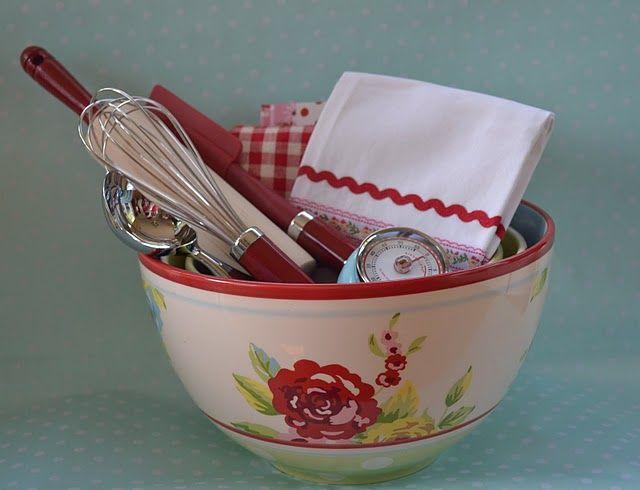 kitschy kitchen gift be still my vintage loving heart i want to kitchen gift basketskitchen - Kitchen Gift Basket Ideas