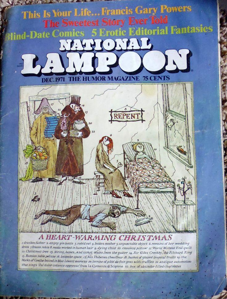 National Lampoon December 1971 Christopher Cerf Marc Rubin