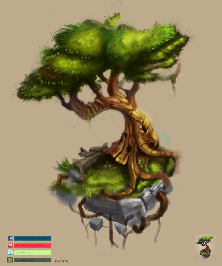 Digital painting learning with tree execution.