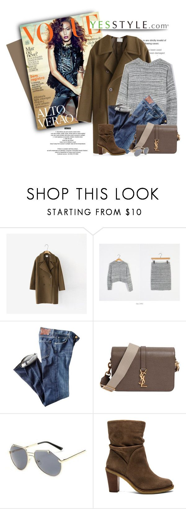"""""""YESSTYLE.com"""" by monmondefou ❤ liked on Polyvore featuring Cherrykoko, Citizens of Humanity, Yves Saint Laurent, KOON, Vince Camuto and yesstyle"""