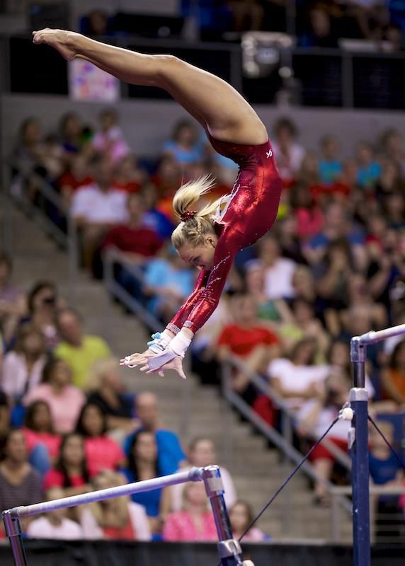 Nastia Liukin on bars