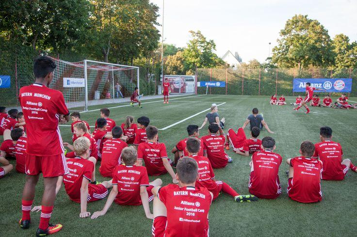 #Junior #Football #Soccer #Camp #Allianz #focitabor #2016 #Bayern #Munchen #München #sport #AJFC