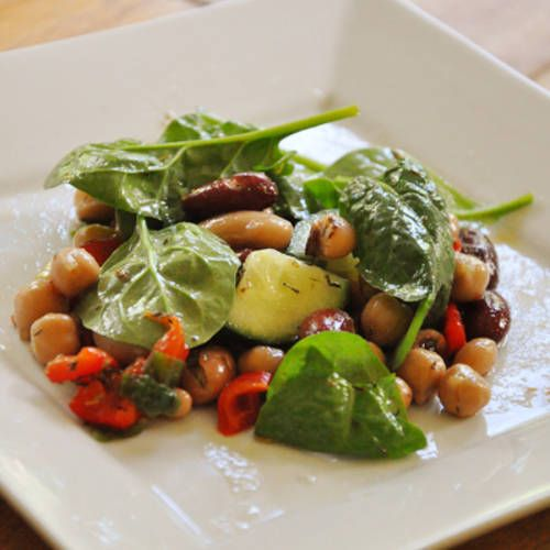 Living Lou's Summer Salad