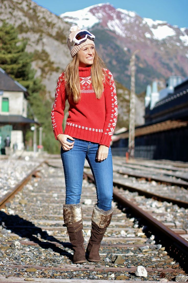 Aprés Ski http://www.mitacondequitaypon.com/2014/12/apres-ski.html
