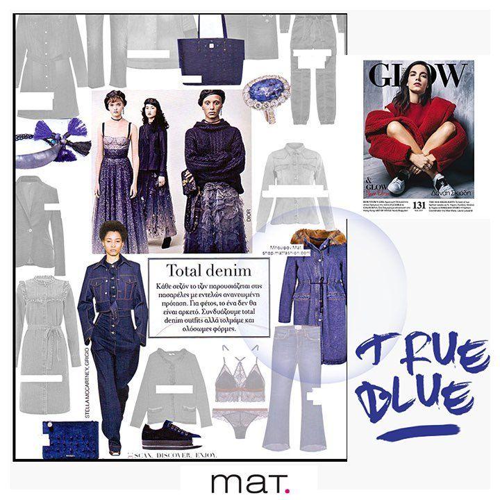Το denim κομμάτι που δεν πρέπει να λείπει από την ντουλάπα σου! Όπως προτείνει και το fashion editorial του @glowmagazine  Denim παρκά με faux-fur επένδυση ➡️ code: 683.4044 #matfashion #fw1718 #realsize #denim #collection #psootd #psblogger #plussizefashion #glowmag #glowgr