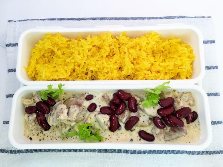 Lunch box curry – Serki w Kuchni
