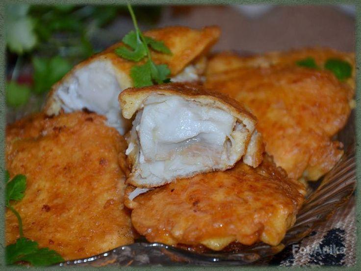 Domowa kuchnia Aniki: Ryba w cieście serowym