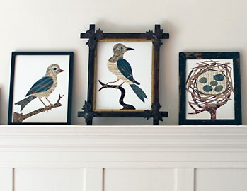 Denise Fiedler is paste, and paste is Denise Fiedler - Paste Collage art