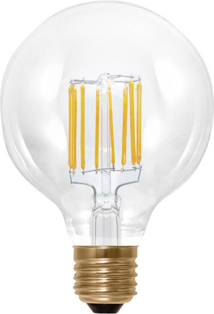 LED E27 Globeform 6 W = 35 W Warmweiß (Ø x L) 95 mm x 130 mm EEK: A+ Segula dimmbar, Filament 1 St.