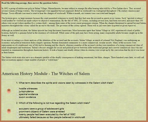 American History Interactive Module - The Witches of Salem ...