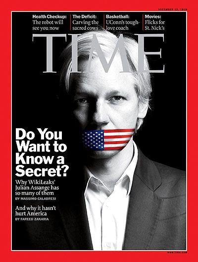 Time Magazine piece on Wikileaks
