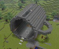 Tsmc Minecraft Skull Building