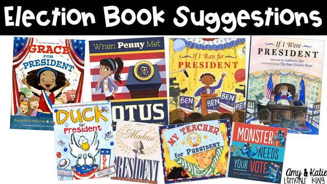 Election Book Ideas by Amy Lemons