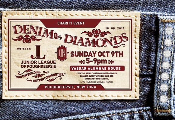 Denim Wedding Invitations: 26 Best Denim And Diamonds Invitations Images On Pinterest