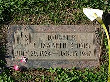 Mountain View Cemetery in Oakland, California. The burial site of Elizabeth Short AKA The Black Dahlia.