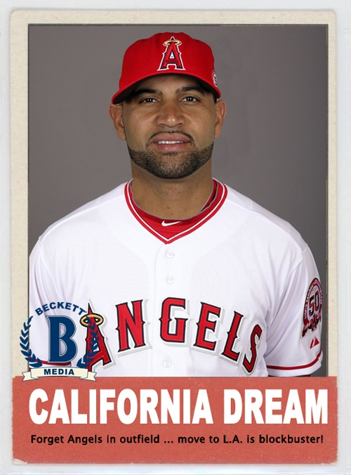 Albert Pujols.....Its gonna be a good year.
