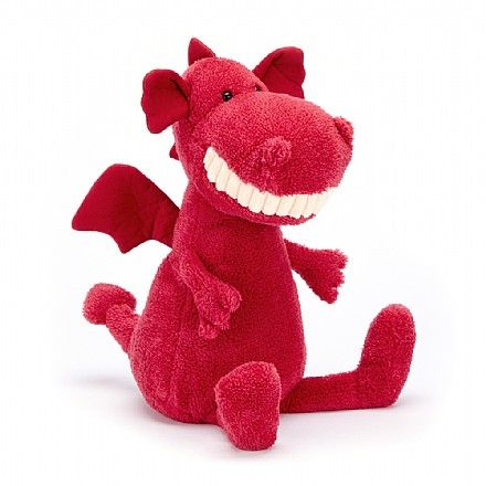Toothy Dragon Soft Toy