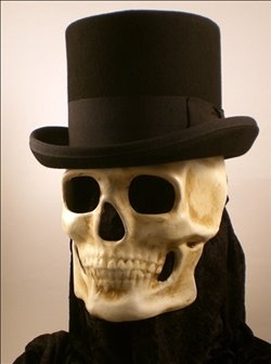 Image result for skull beneath every bowler hat
