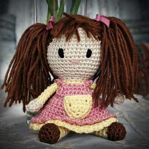bambola con codini e spiegazioni!
