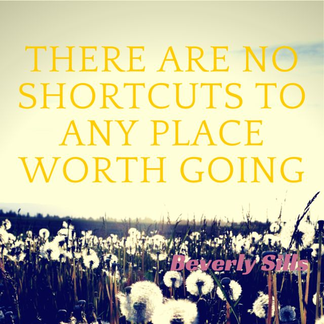 essay on there is no shortcut to success Success is the consequence of practice and repetition there are no shortcuts it  is based on pushing oneself to do better and better winston.