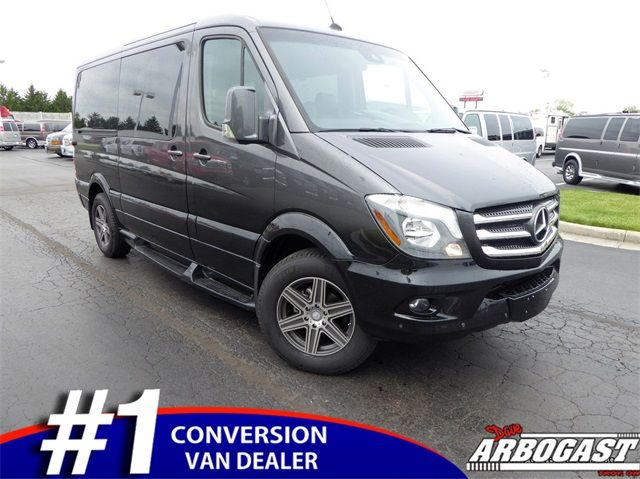 New 2016 Mercedes-Benz Conversion Van Sprinter by Explorer Hi-Top for sale - only $78,975. Visit Dave Arbogast Conversion Vans in Troy OH serving Ohio and United States #WDZPE7CD0GP181383