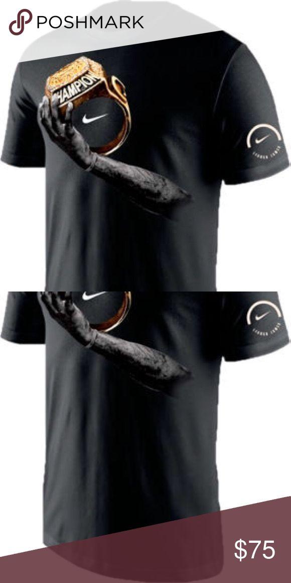 Nike Cleveland Cavaliers Lebron James T shirt NWT sold out item! Men's Cleveland Cavaliers 2016 Lebron James Signature Ring t shirt. Nike Tops Tees - Short Sleeve
