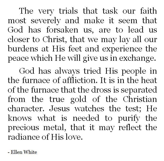 Ellen White - Patriarchs & Prophets, pg. 129