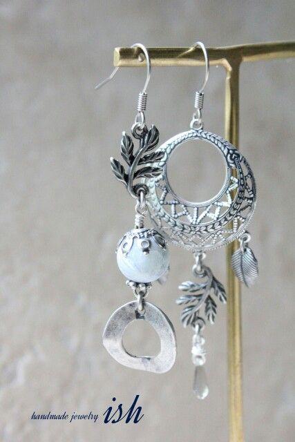 asymmetric earring
