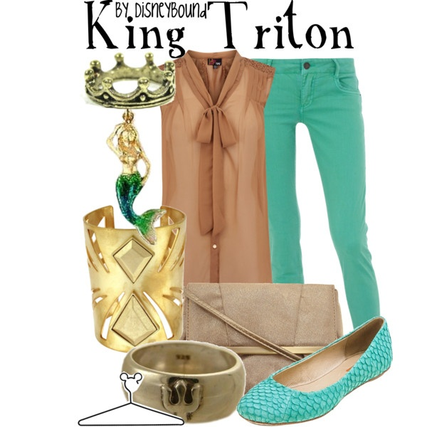 King Triton, created by lalakay on Polyvore