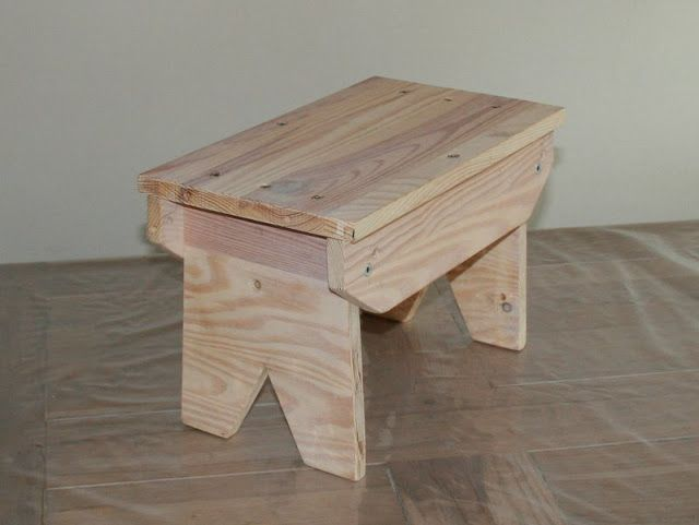 Child S Primitive Step Stool Ikea Hackers Primitives
