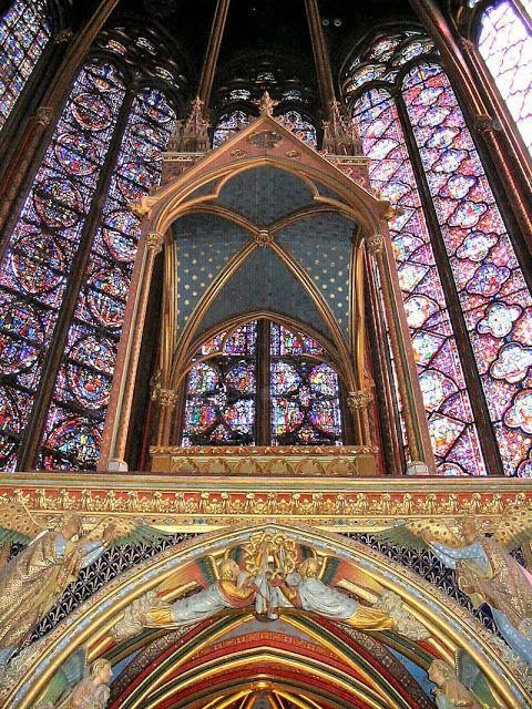 Sainte Chapelle, altar