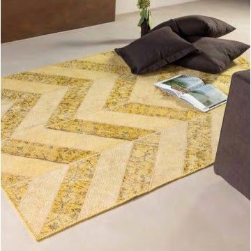 Alfombra Lana Bodrum Amarilla #Ambar #Muebles #Deco #Interiorismo #Alfombras | http://www.ambar-muebles.com/alfombra-lana-bodrum-amarilla.html