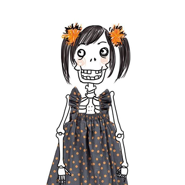 Cute skeleton dress @marmarcopenhagen pic M. Minto available on www.mommut.com! #marmarcopenhagen #skeleton #babygirl #happyhalloween #trickortreat #instakids #instamom #instamamme #instalike #instagood #instablogger #shoppingonline #outletconceptstore #mommut #mommutblogshop #thewomoms