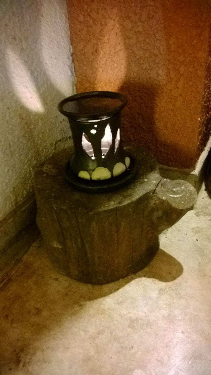 Oil lamp for Aurvedhick steam.