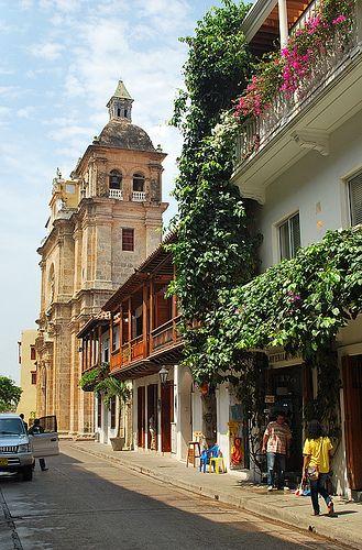 Centro histórico Cartagena de Indias.