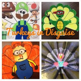 http://www.teacherspayteachers.com/Product/Turkey-in-Disguise-A-Take-Home-Family-Project-for-Little-Learners-405965