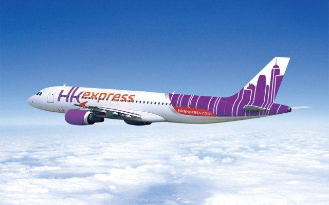 Hong Kong Express - new livery (2014)