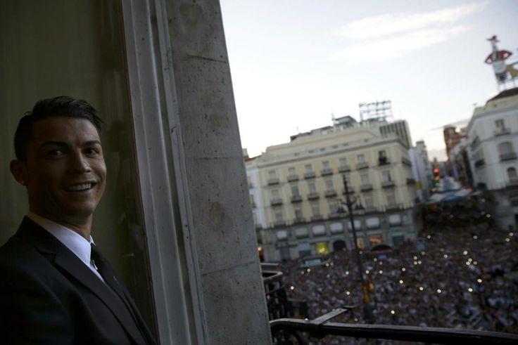cristiano en el ayuntamiento de madrid