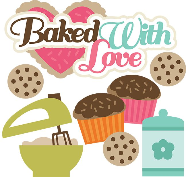 Baked With Love Svg Cutting Files For Scrapbooking