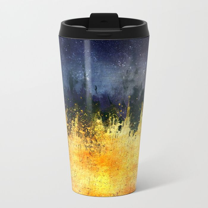 My burning desire Metal Travel Mug by HappyMelvin | Society6