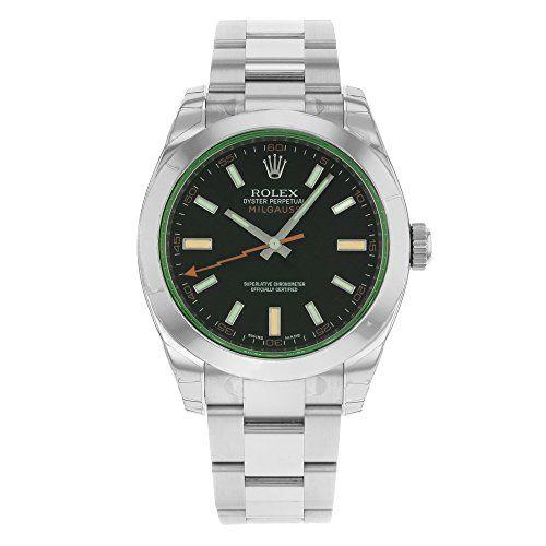 Rolex Milgauss 116400V bko Stainless Steel Automatic Men's Watch