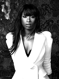 Jennifer Hudson. She is divine! I watched Dreamgirls the other day and she is just ah-may-zing!